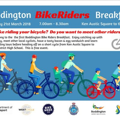Boddington Bike Riders Breakfast